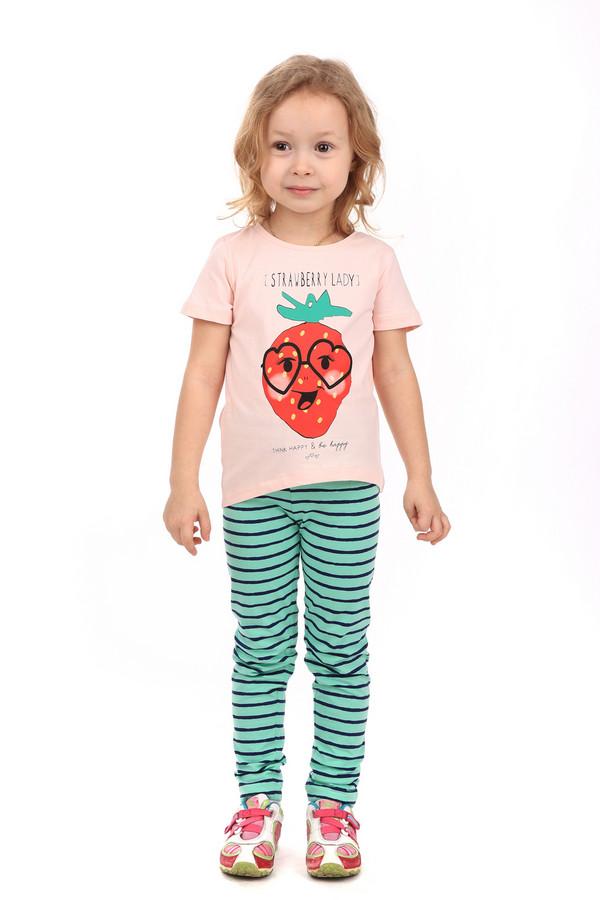 Футболки и поло Tom TailorФутболки и поло<br><br><br>Размер RU: 32-34;128-134<br>Пол: Женский<br>Возраст: Детский<br>Материал: хлопок 100%<br>Цвет: Розовый