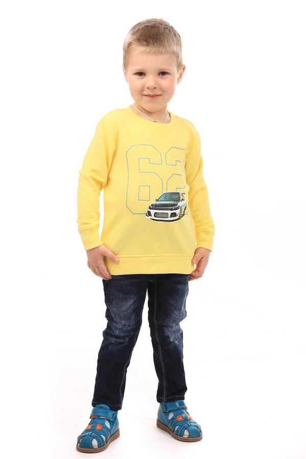 Джемперы и кардиганы Tom TailorДжемперы и кардиганы<br><br><br>Размер RU: 30;116-122<br>Пол: Мужской<br>Возраст: Детский<br>Материал: хлопок 100%<br>Цвет: Жёлтый