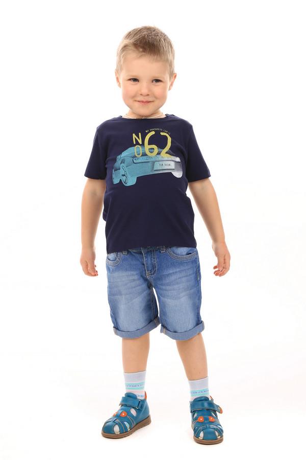 Футболки и поло Tom TailorФутболки и поло<br><br><br>Размер RU: 28;104-110<br>Пол: Мужской<br>Возраст: Детский<br>Материал: хлопок 100%<br>Цвет: Синий