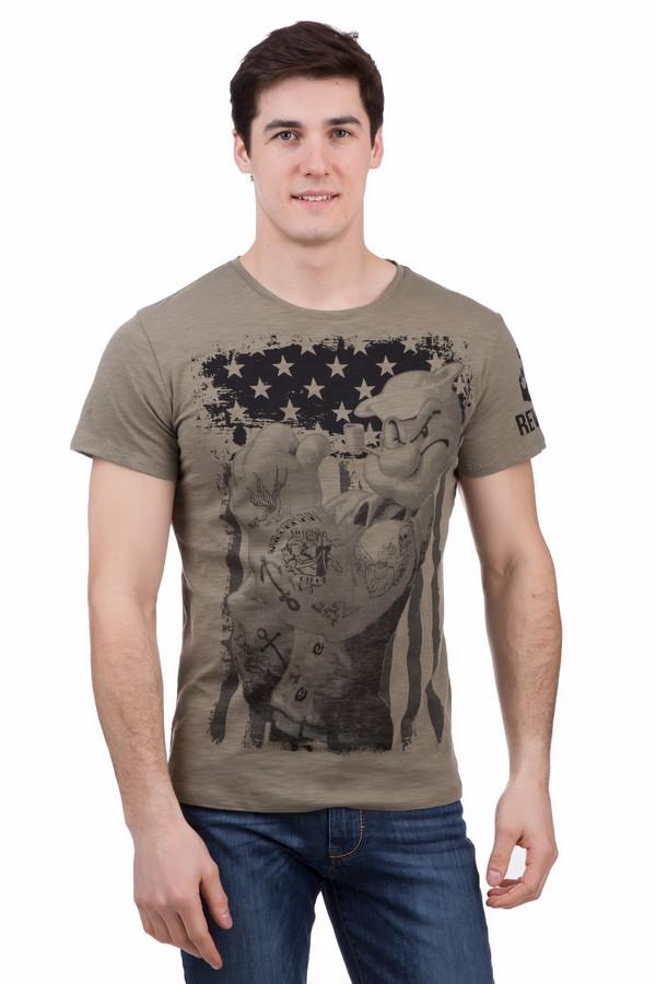 Футболкa LocustФутболки<br>Футболкa Locust коричневая. Эта милая вещь с забавным рисунком – must-have для мужского гардероба. Если вам надоело быть серьезным, то такая футболка поможет раскрепоститься, улучшить настроение себе и окружающим и просто подарит массу положительных эмоций. Состав: 100%-ный хлопок. Чудесное изделие для жаркого солнечного лета, которое будет к месту, если погода становится дождливой.<br><br>Размер RU: 48<br>Пол: Мужской<br>Возраст: Взрослый<br>Материал: хлопок 100%<br>Цвет: Коричневый