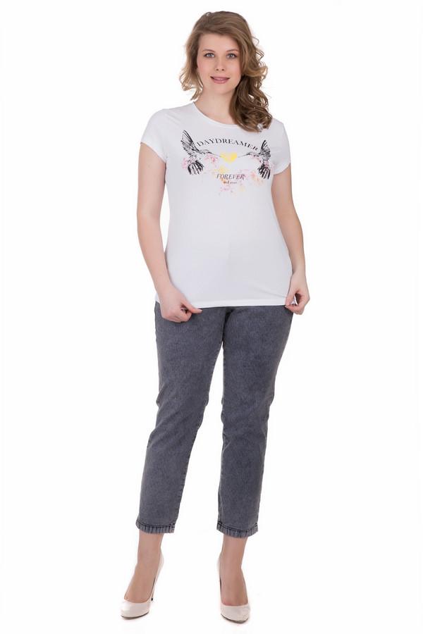 женская футболка locust, белая