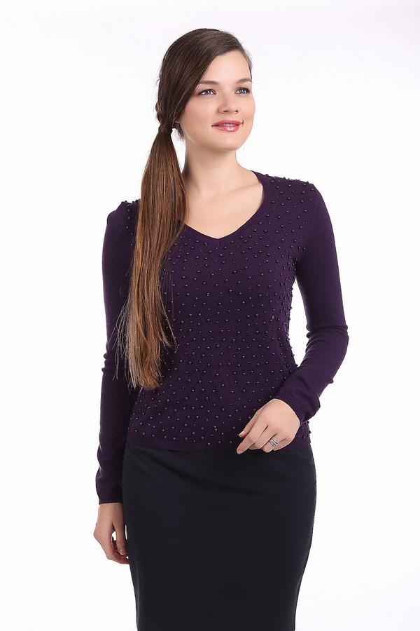 Пуловер PezzoПуловеры<br>Темно-фиолетовый женский пуловер Pezzo приталенного кроя. Изделие дополнено: v-образным вырезом и длинными рукавами. Пуловер декорирован множеством бусин в цвет изделия.<br><br>Размер RU: 44<br>Пол: Женский<br>Возраст: Взрослый<br>Материал: полиэстер 30%, нейлон 20%, шерсть 5%, вискоза 40%, ангора 5%<br>Цвет: Фиолетовый
