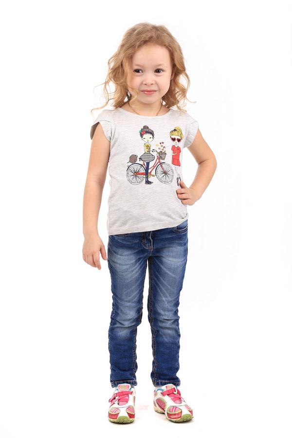 Брюки Tom TailorБрюки<br>Брюки Tom Tailor детские. Милые синие джинсы для девочки с актуальными потертостями спереди брючин, несомненно, придутся по вкусу юной моднице. Сзади брючки, как и классические джинсы, снабжены большими накладными карманами. Дети часто мечтают выглядеть как взрослые, поэтому такие брючки просто незаменимы. Состав: 100%-ный хлопок.<br><br>Размер RU: 28;110<br>Пол: Женский<br>Возраст: Детский<br>Материал: хлопок 100%<br>Цвет: Синий