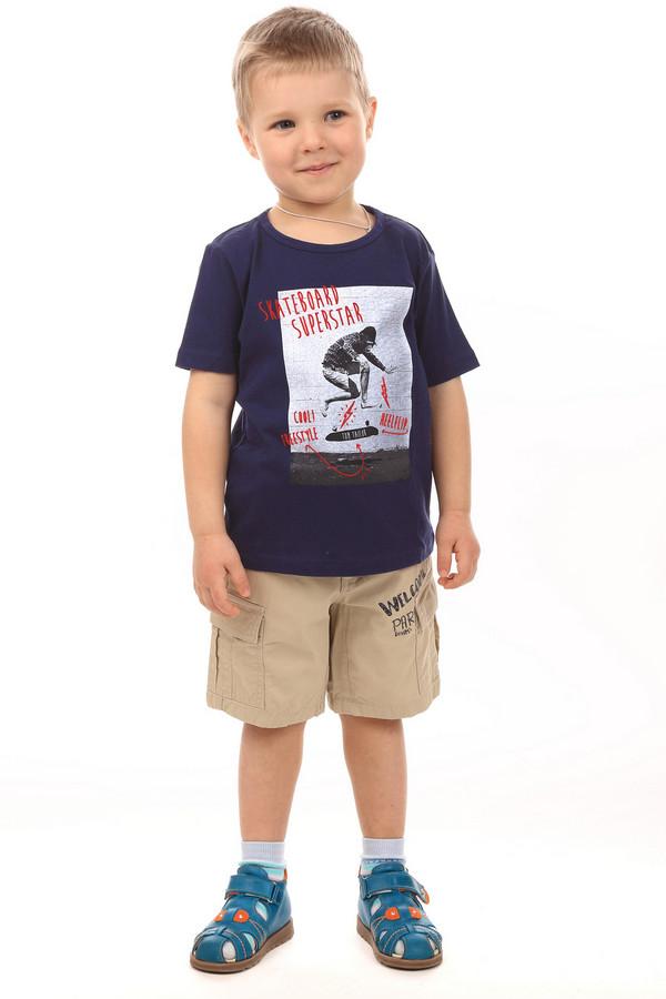 Футболки и поло Tom TailorФутболки и поло<br><br><br>Размер RU: 32-34;128-134<br>Пол: Мужской<br>Возраст: Детский<br>Материал: хлопок 100%<br>Цвет: Синий