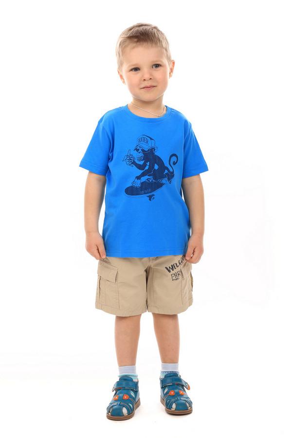 Футболки и поло Tom TailorФутболки и поло<br><br><br>Размер RU: 30;116-122<br>Пол: Мужской<br>Возраст: Детский<br>Материал: хлопок 100%<br>Цвет: Синий