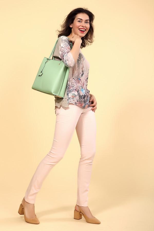 Джинсы OuiДжинсы<br>Джинсы Oui розовые. Облегающая и такая нежная модель в пастельных тонах подойдет для почитательниц женственного и элегантного стиля. Брючки красиво облегают женские ножки и бесподобно сидят по фигуре. Состав: эластан, полиэстер, хлопок. Модель класса люкс для шикарных и уверенных в себе женщин. Хорошо комбинируются с прочими вещами вашего гардероба.