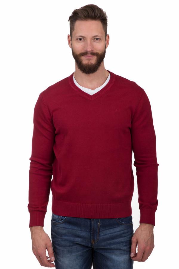 Джемпер CalamarДжемперы<br>Насыщенный красный джемпер бренда Calamar прямого кроя. Изделие дополнено: v-образным вырезом и длинными рукавами. Ворот, манжеты и нижний кант оформлены эластичной трикотажной резинкой. Джемпер выполнен из натурального хлопкового трикотажа.<br><br>Размер RU: 46-48<br>Пол: Мужской<br>Возраст: Взрослый<br>Материал: хлопок 100%<br>Цвет: Красный