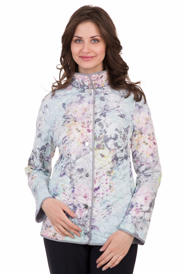 Куртка BaslerКуртки<br><br><br>Размер RU: 46<br>Пол: Женский<br>Возраст: Взрослый<br>Материал: полиамид 100%<br>Цвет: Серебристый