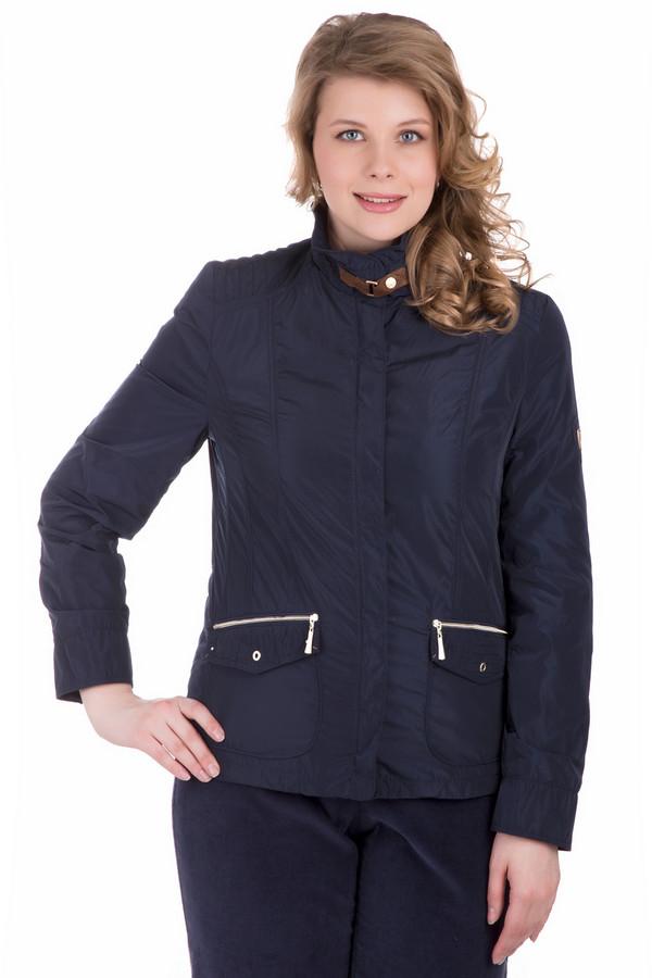 Куртка LebekКуртки<br>Куртка Lebek темно-синяя. Курточка в спортивном стиле снабжена массой интересных деталей: это застегивающиеся накладные карманы, снабженные также молниями, и пряжка на воротнике курточки, что имеет и декоративную, и практическую функции. Демисезонная модель, застегивающаяся на молнию. Состав изделия и подкладки: полиэстер.<br><br>Размер RU: 44<br>Пол: Женский<br>Возраст: Взрослый<br>Материал: полиэстер 100%, Состав_подкладка полиэстер 100%<br>Цвет: Синий