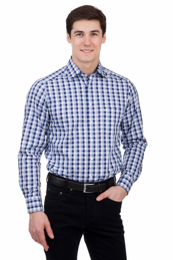 Рубашка с длинным рукавом MarvelisДлинный рукав<br>Рубашка с длинным рукавом Marvelis клетчатая. Белый, голубой и синий цвета – это лучшие союзники и великолепное сочетание. Мужская мода его очень любит. И это вовсе не удивительно: одежда в синей гамме прекрасно дополняет элегантный образ представителя сильного пола. Ее холодные оттенки олицетворяют силу, мужественность и стойкость. Состав: 100%-ный хлопок.<br><br>Размер RU: 40<br>Пол: Мужской<br>Возраст: Взрослый<br>Материал: хлопок 100%<br>Цвет: Разноцветный