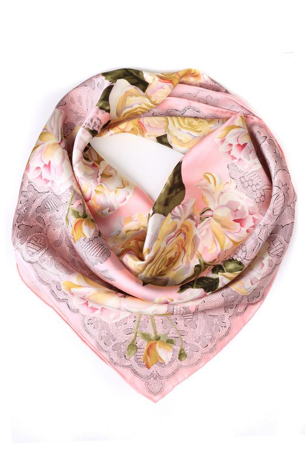 Платок Just ValeriПлатки<br>Платок Just Valeri розовый. Пастельные тона и цветочные мотивы – это всегда беспроигрышное сочетание. Нежный розовый фон дополнен бело-бежево-зеленым рисунком. Имитация кружева и цветочные мотивы выглядят в своем сочетании на все 100! Вещь, бесподобная в своем исполнении. Состав: 100%-ный шелк.<br><br>Размер RU: один размер<br>Пол: Женский<br>Возраст: Взрослый<br>Материал: шелк 100%<br>Цвет: Разноцветный