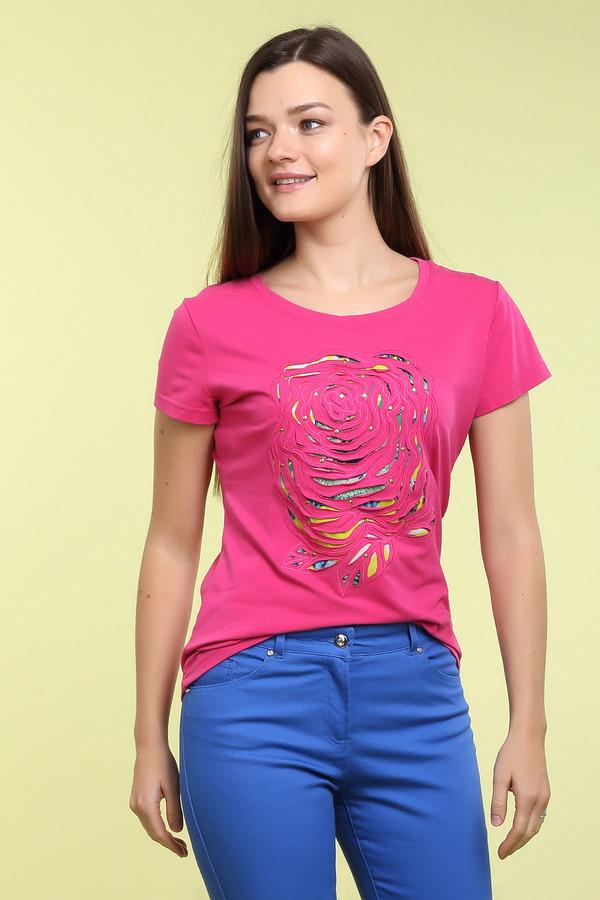 Футболка Just ValeriФутболки<br>Футболка Just Valeri розовая. Вещь яркая и запоминающаяся. От нее так и веет оптимизмом и радостью жизни. Пестрый рисунок на груди дополняет общее впечатление. Состав: хлопок и спандекс. Вы можете носить эту прелестную вещь как с романтическими юбками, так и с джинсами или брюками в стиле кэжуал.<br><br>Размер RU: 52<br>Пол: Женский<br>Возраст: Взрослый<br>Материал: хлопок 95%, спандекс 5%<br>Цвет: Розовый
