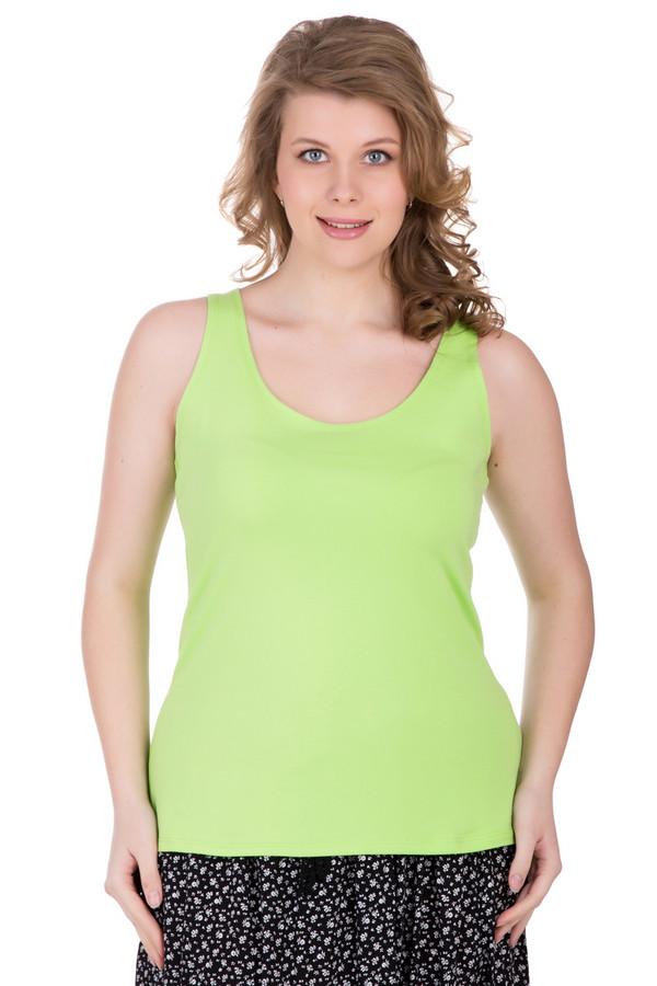 Топ PezzoТопы<br>Топ Pezzo зеленый. Эта вещь простая и лаконичная, которая предоставляет широчайшее поле для фантазии и различных комбинаций. Носить его – одно удовольствие! Вы можете сочетать его как с потертыми джинсами с дырами, так и с романтичными юбками, к примеру, из шелка или шифона. Оттенок зеленого яблока смотрится очень элегантно и женственно. Состав: хлопок плюс эластан.<br><br>Размер RU: 52<br>Пол: Женский<br>Возраст: Взрослый<br>Материал: хлопок 95%, эластан 5%<br>Цвет: Зелёный