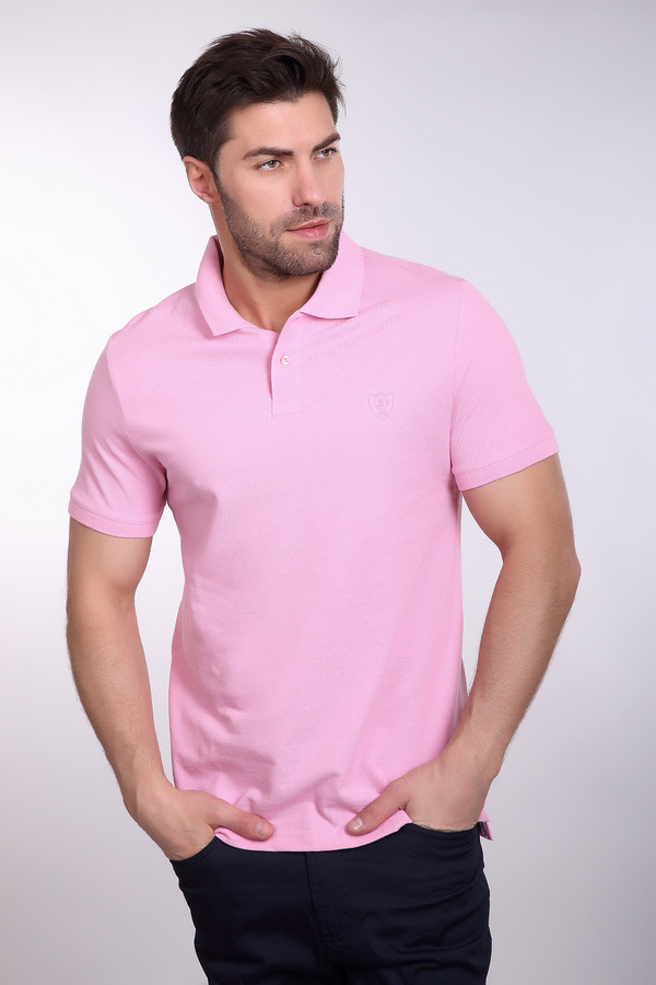 Поло PezzoПоло<br>Поло Pezzo розовое. Предложение для смелых и модных мужчин. Розовый цвет уже давно отметился в мужском гардеробе, но до сих пор вещи в таком оттенке есть далеко не у каждого представителя сильного пола. Актуальная модель, выполненная в достаточно редком цвете, несомненно, будет притягивать к вам все новые взгляды. Состав: 100%-ный хлопок.<br><br>Размер RU: 48<br>Пол: Мужской<br>Возраст: Взрослый<br>Материал: хлопок 100%<br>Цвет: Розовый