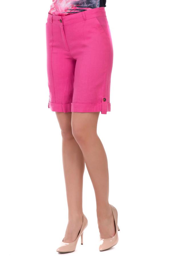 Шорты FemmeШорты<br>Шорты Femme розовые. Удлиненная модель этих шортиков будет хороша даже для города. Прямой крой, складочки на штанинах, манжеты внизу их, закрепленные застежкой на пуговицу, карманы по бокам – все это секреты успеха нашей очаровательной модели. Состав: 100%-ный лен. Позвольте себе быть яркой в теплые летние дни!<br><br>Размер RU: 44<br>Пол: Женский<br>Возраст: Взрослый<br>Материал: лен 100%<br>Цвет: Розовый