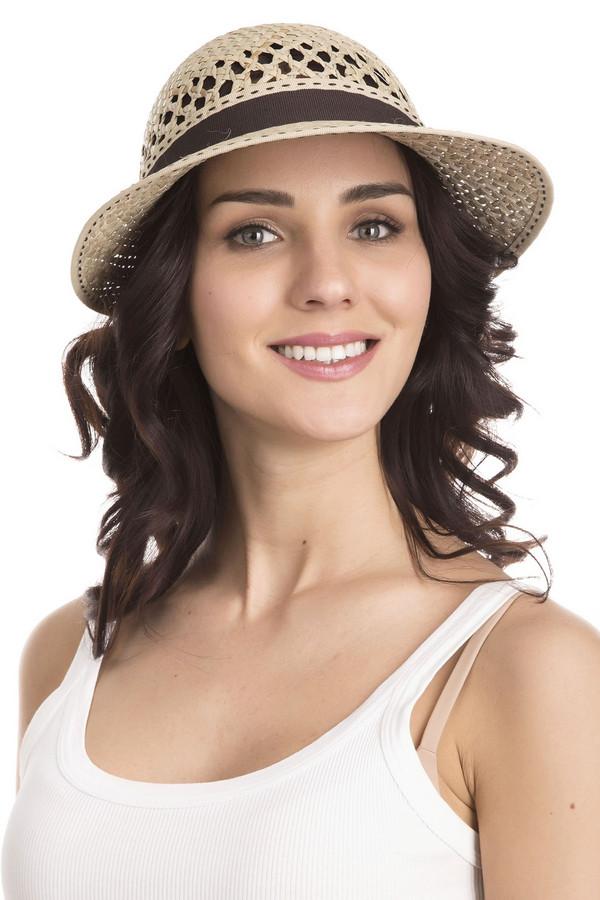 Шляпа WegenerШляпы<br>Шляпа Wegener бежевая женская. Восхитительная модель для истинных леди. Поля разной ширины, ажурный рисунок плетения, декоративная коричневая ленточка с креативным бантиком, плюс ко всему – контрастный отделочный шов по всему периметру шляпки, - все эти элементы нашего изделия придутся вам по душе и будут выглядеть как нельзя лучше. Состав: 100%-ная солома.<br><br>Размер RU: один размер<br>Пол: Женский<br>Возраст: Взрослый<br>Материал: солома 100%<br>Цвет: Бежевый