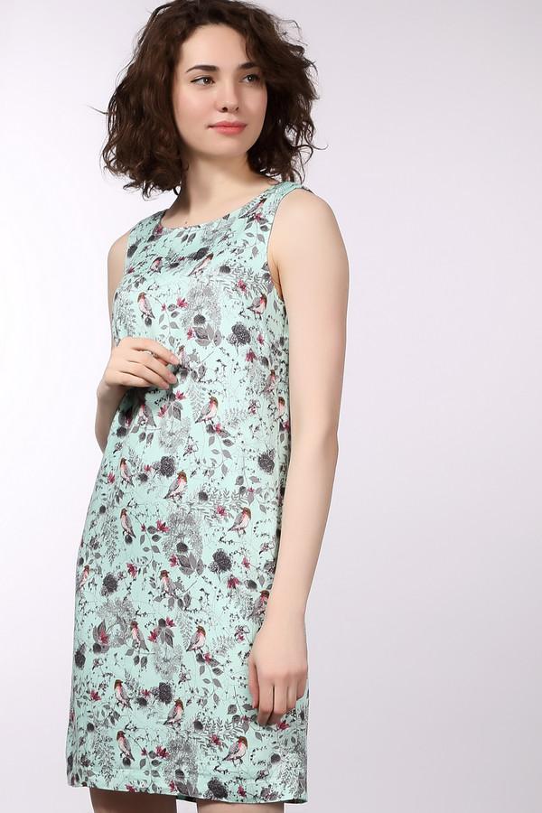 Платье Tom TailorПлатья<br>Платье Tom Tailor разноцветное. Чёрный, серый, красный цвета рисунка на голубом фоне выглядят очень мило и изящно. Растительный рисунок с изображением птиц – хороший выбор для легкого летнего платья. Подходит оно для самых разных ситуаций женщинам любой комплекции и возраста. Состав: эластан и вискоза. Отменная модель для теплых летних дней и вечеров.<br><br>Размер RU: 40<br>Пол: Женский<br>Возраст: Взрослый<br>Материал: эластан 3%, вискоза 97%, Состав_подкладка эластан 3%, Состав_подкладка вискоза 97%<br>Цвет: Разноцветный