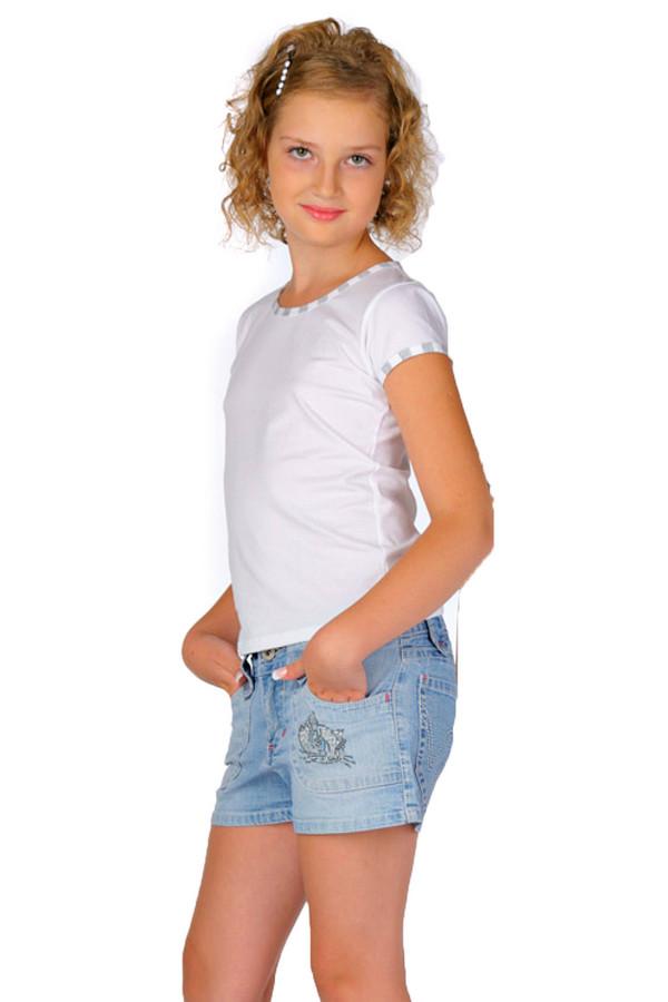 Футболка LowryФутболки<br>Футболка Lowry белая. Эта чудесная вещь для вашей малышки – то, что нужно. Любая девочка с детства хочет одеваться как взрослая, и такая модель ей в этом поможет. Однотонное изделие с рукавами, отделанными тканью в бело-серую полоску, понравится как самой стиляге, так и окружающим. Футболка сшита из хлопка с добавлением лайкры.<br><br>Размер RU: 30<br>Пол: Женский<br>Возраст: Детский<br>Материал: хлопок 95%, лайкра 5%<br>Цвет: Белый