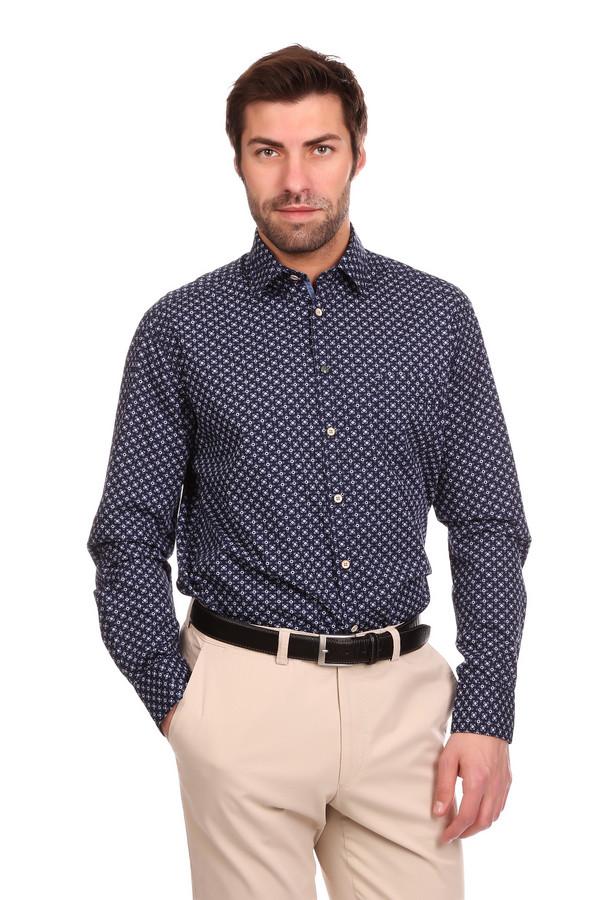 Рубашка с длинным рукавом CalamarДлинный рукав<br>Мужская рубашка с длинным рукавом Calamar темно-синяя в клетку. Это отличный выбор для тех, кто не любит однотонную одежду, но вынужден носить деловой костюм. Рубашка с длинным рукавом застегивается на ряд пуговиц, отложной воротничок-стойка, застегивающиеся на пуговицы манжеты. Изготовлена из чистого хлопка. Демисезон - наиболее подходящее время для носки.<br><br>Размер RU: 39-40<br>Пол: Мужской<br>Возраст: Взрослый<br>Материал: хлопок 100%<br>Цвет: Голубой