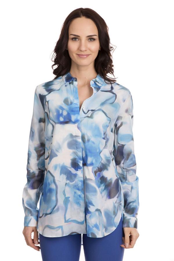 Блузa BraxБлузы<br>Необычная женская блузa Brax - это отличный выбор, чтобы выделиться из толпы. Обычный крой: прямой фасон, длинные рукава, манжеты на пуговицах, отложной воротничок, - прекрасно оживляет акварельный принт, в котором можно увидеть и водную гладь, и облака, и голубые маки. Модель выполнена из хлопка. Осенью или весной будет наиболее уместна.<br><br>Размер RU: 46<br>Пол: Женский<br>Возраст: Взрослый<br>Материал: хлопок 100%<br>Цвет: Разноцветный