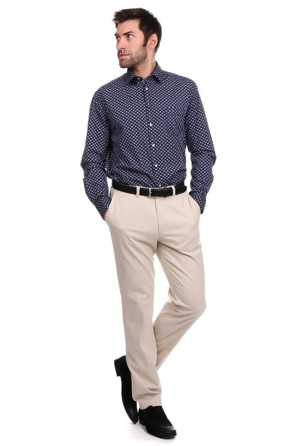 Брюки GardeurБрюки<br>Светлые брюки всегда актуальны в мужском гардеробе, и брюки Gardeur отлично подойдут на эту роль. Бежевый цвет, прямой покрой, широкий пояс. Спереди брюки дополнены двумя практичными врезными карманами. Сзади - врезными карманами на пуговицах. В состав модели входят эластан и хлопок. В летний сезон такие брюки наиболее актуальны.<br><br>Размер RU: 48<br>Пол: Мужской<br>Возраст: Взрослый<br>Материал: эластан 3%, хлопок 97%<br>Цвет: Бежевый