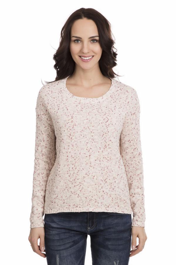 Пуловер s.OliverПуловеры<br>Нежный розовый пуловер s.Oliver станет украшением любой девушки. Облегающий силуэт, длинные рукава, у пуловера округлый вырез горловины, украшенный вязаной резинкой. Розовая материя дополнена красными вкраплениями. В состав изделия входят полиэстер, хлопок и полиамид. Осенью и весной в таком пуловере будет очень комфортно.<br><br>Размер RU: 46<br>Пол: Женский<br>Возраст: Взрослый<br>Материал: хлопок 59%, полиамид 23%, полиэстер 18%<br>Цвет: Розовый