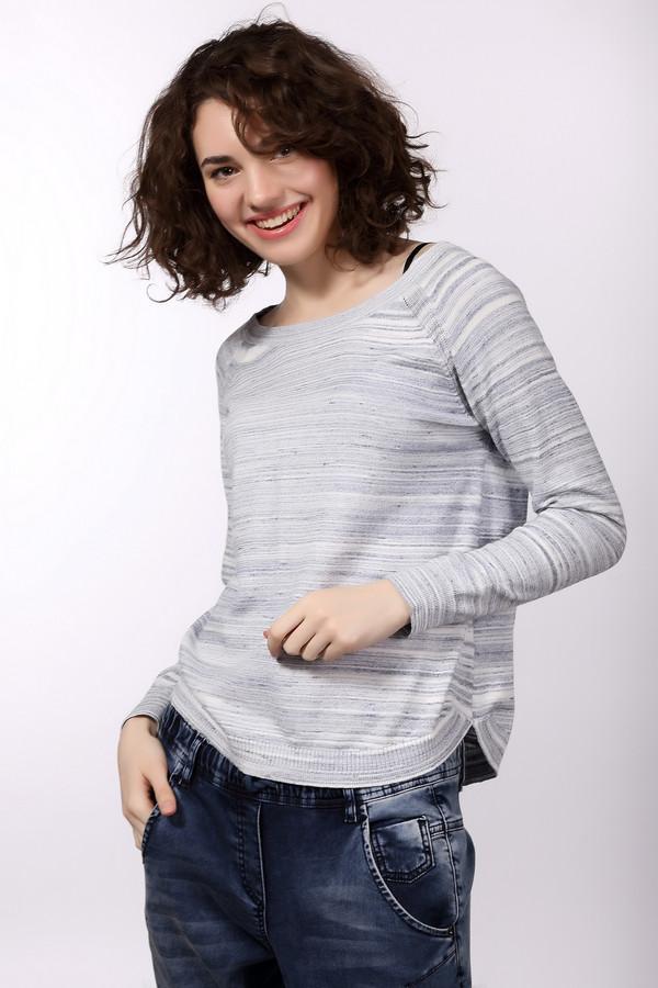 Пуловер s.OliverПуловеры<br>Женский пуловер s.Oliver, белый в сиреневых разводах, прекрасно подойдет для повседневной носки. Прямой покрой, длинные рукава, широкий овальный вырез горловины - простота модели только придает ей дополнительного очарования. Выполнен пуловер из чистого хлопка. Осенью или весной он будет наиболее актуален в носке.<br><br>Размер RU: 42<br>Пол: Женский<br>Возраст: Взрослый<br>Материал: хлопок 100%<br>Цвет: Сиреневый