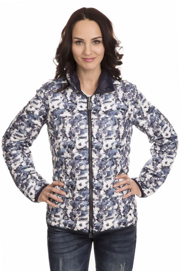 Куртка LebekКуртки<br>Теплая куртка Lebek пестрой расцветки подойдет женщине, которая не любит стандартные решения. Расцветка сочетает белый, синий и голубой цвета. Куртка прямого покроя с длинными рукавами и воротником-стойкой, застегивается на молнию. Модель изготовлена из чистого полиэстера. Осенью или весной в такой куртке будет наиболее комфортно.<br><br>Размер RU: 48<br>Пол: Женский<br>Возраст: Взрослый<br>Материал: полиэстер 100%<br>Цвет: Разноцветный
