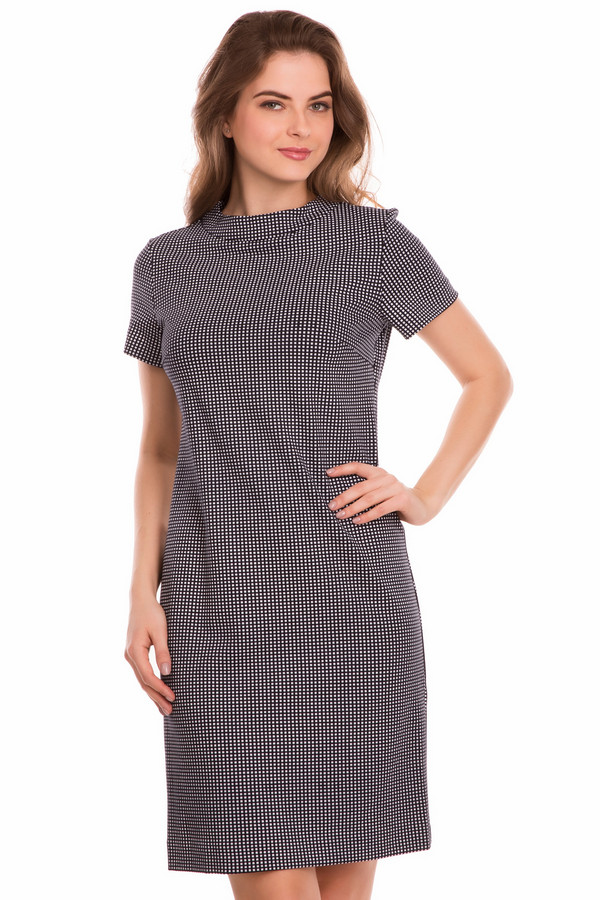 Платье FemmeПлатья<br><br><br>Размер RU: 42<br>Пол: Женский<br>Возраст: Взрослый<br>Материал: эластан 5%, вискоза 65%, нейлон 30%<br>Цвет: Серый