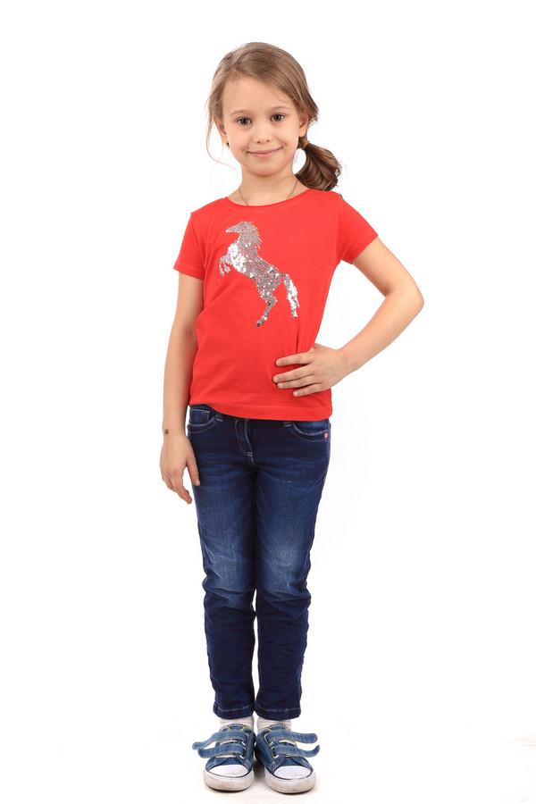 Футболки и поло s.OliverФутболки и поло<br><br><br>Размер RU: 32-34;128-134<br>Пол: Женский<br>Возраст: Детский<br>Материал: хлопок 100%<br>Цвет: Красный