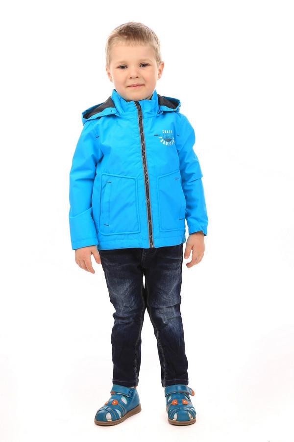 Куртка s.OliverКуртки<br><br><br>Размер RU: 30;122<br>Пол: Мужской<br>Возраст: Детский<br>Материал: полиэстер 100%<br>Цвет: Голубой