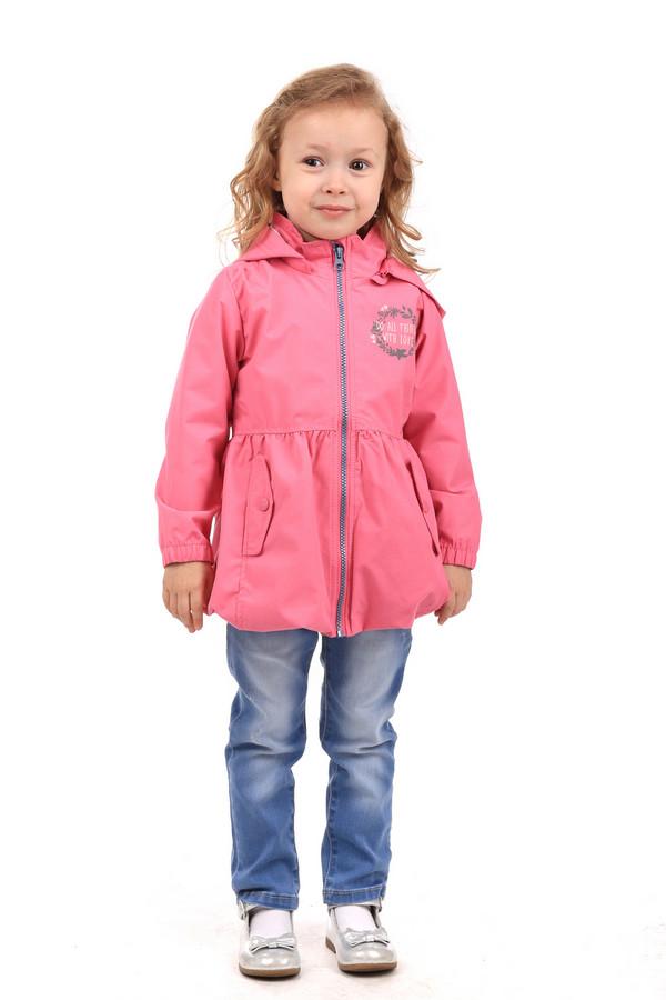 Куртка s.OliverКуртки<br><br><br>Размер RU: 28;110<br>Пол: Женский<br>Возраст: Детский<br>Материал: полиэстер 100%<br>Цвет: Розовый