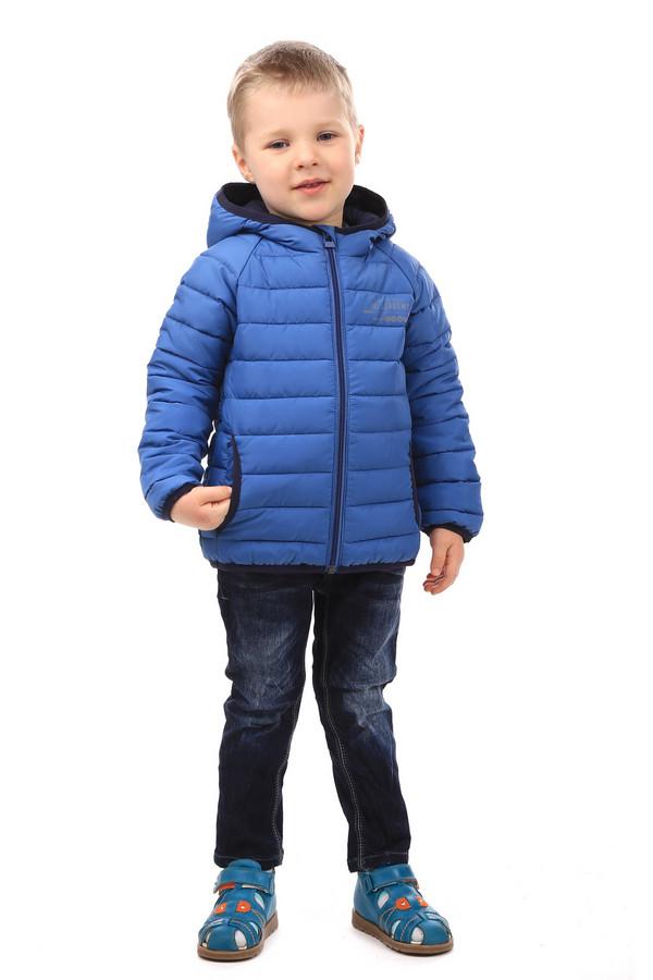 Куртка s.OliverКуртки<br><br><br>Размер RU: 30;122<br>Пол: Мужской<br>Возраст: Детский<br>Материал: полиэстер 100%, Состав_подкладка полиэстер 100%<br>Цвет: Синий