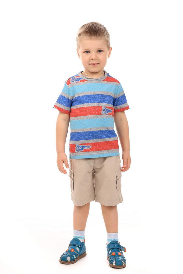 Футболки и поло s.OliverФутболки и поло<br><br><br>Размер RU: 32-34;128-134<br>Пол: Мужской<br>Возраст: Детский<br>Материал: хлопок 90%, вискоза 10%<br>Цвет: Разноцветный