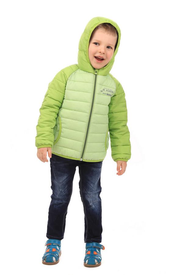 Куртка s.OliverКуртки<br><br><br>Размер RU: 26;92<br>Пол: Мужской<br>Возраст: Детский<br>Материал: полиэстер 100%, Состав_подкладка полиэстер 100%<br>Цвет: Зелёный