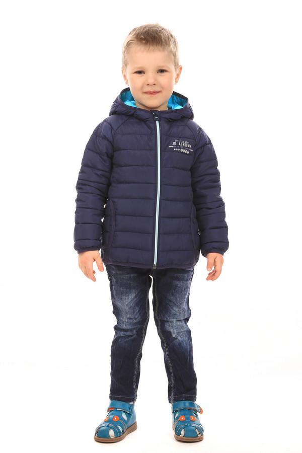 Куртка s.OliverКуртки<br><br><br>Размер RU: 28;110<br>Пол: Мужской<br>Возраст: Детский<br>Материал: полиэстер 100%, Состав_подкладка полиэстер 100%<br>Цвет: Синий