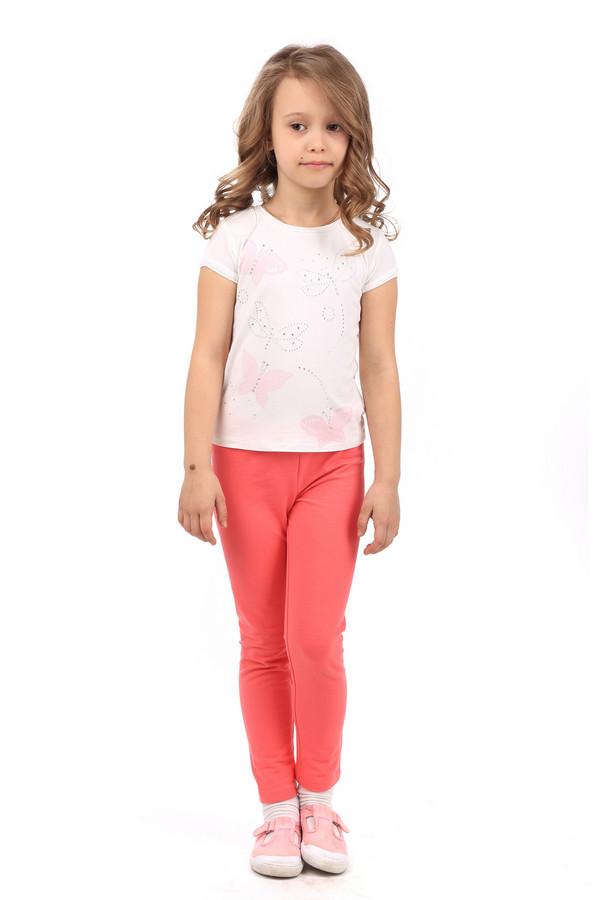 Леггинсы s.OliverЛеггинсы<br><br><br>Размер RU: 32;128<br>Пол: Женский<br>Возраст: Детский<br>Материал: эластан 5%, хлопок 95%<br>Цвет: Розовый
