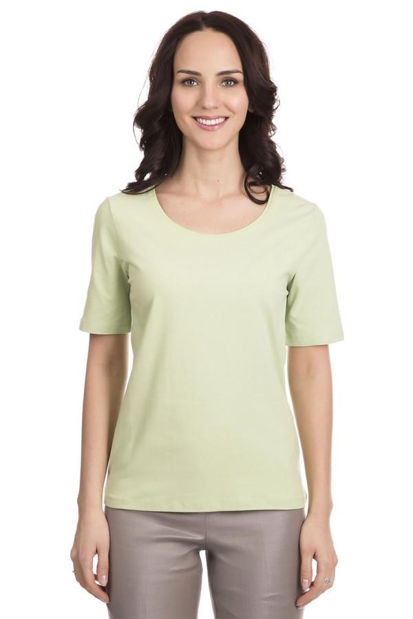 Футболка Betty BarclayФутболки<br>Классическая футболка от Betty Barclay - универсальная вещь летнего гардероба. Футболка выполнена в светло-зеленом цвете. Длина изделия - средняя, рукава короткие. Футболка прямого кроя, не облегает. Есть неглубокий круглый вырез. Такая футболка отлично подойдет под любой летний образ, ведь она сочетается как с шортами, так и юбкой. Состав изделия - 95% хлопок, 5% эластан.<br><br>Размер RU: 42<br>Пол: Женский<br>Возраст: Взрослый<br>Материал: хлопок 95%, эластан 5%<br>Цвет: Зелёный