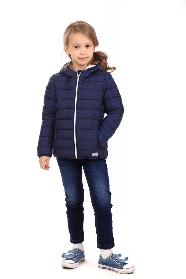 Куртка s.OliverКуртки<br><br><br>Размер RU: 30;122<br>Пол: Женский<br>Возраст: Детский<br>Материал: полиэстер 100%, Состав_подкладка полиэстер 100%<br>Цвет: Синий