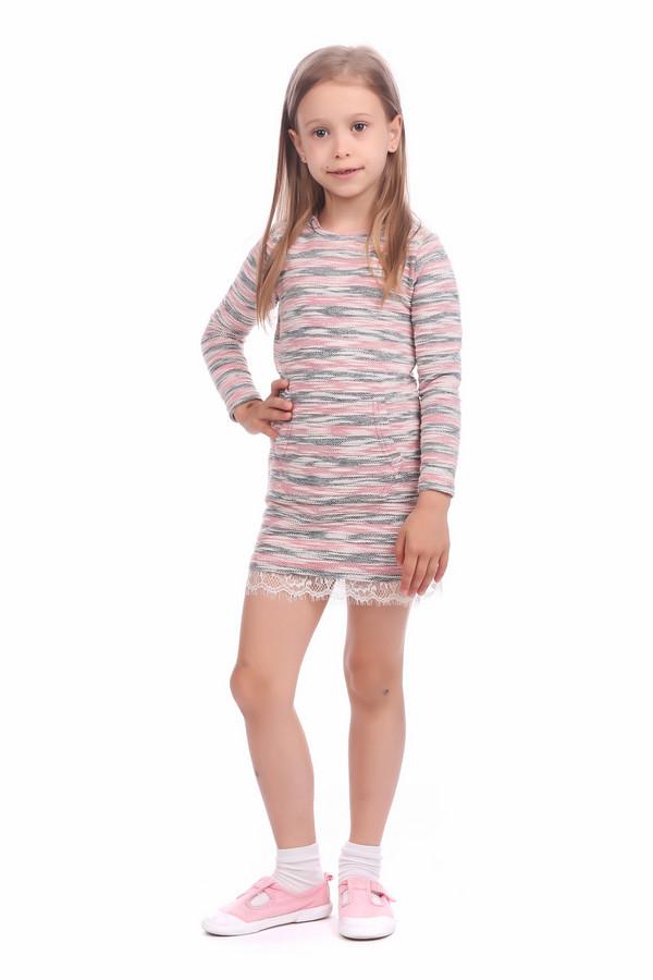 Платье s.OliverПлатья<br><br><br>Размер RU: 26;98<br>Пол: Женский<br>Возраст: Детский<br>Материал: эластан 5%, полиэстер 60%, хлопок 35%<br>Цвет: Разноцветный