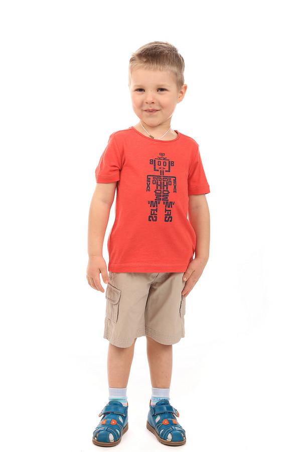 Футболки и поло s.OliverФутболки и поло<br><br><br>Размер RU: 30;116-122<br>Пол: Мужской<br>Возраст: Детский<br>Материал: хлопок 100%<br>Цвет: Красный
