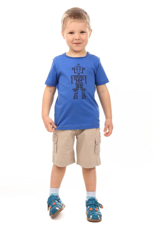 Футболки и поло s.OliverФутболки и поло<br><br><br>Размер RU: 30;116-122<br>Пол: Мужской<br>Возраст: Детский<br>Материал: хлопок 100%<br>Цвет: Синий