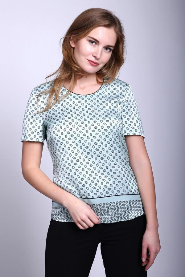 Блузa Gerry WeberБлузы<br>Блузa Gerry Weber зелёно-чёрная женская. Очень изысканная и красивая блуза. Легкая струящаяся ткань, рукав крылышко, круглая горловина с контрастной окантовкой, свободный крой делают эту модель довольно привлекательной. Блуза отлично смотрится с тёмными брюками или джинсами. Удобная и практичная модель. Состав: 100%-ный полиэстер.<br><br>Размер RU: 44<br>Пол: Женский<br>Возраст: Взрослый<br>Материал: полиэстер 100%<br>Цвет: Чёрный