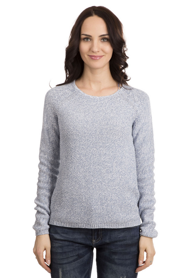 Пуловер Tom TailorПуловеры<br>Пуловер Tom Tailor голубой. Приятный, нежный и совершенно ненавязчивый оттенок делает это изделие поистине универсальным. Вы можете дополнить такую вещь самыми разными аксессуарами. Какой бы стиль вы ни предпочитали, данная модель буде одинаково уместна в вашем гардеробе. Покрой реглан этой демисезонной вещи делает ее еще элегантнее. Изделие из 100%-ного хлопка.<br><br>Размер RU: 44-46<br>Пол: Женский<br>Возраст: Взрослый<br>Материал: хлопок 100%<br>Цвет: Голубой
