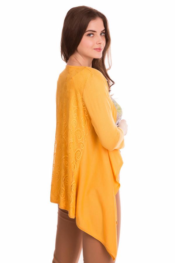 Кардиган FemmeКардиганы<br><br><br>Размер RU: 50<br>Пол: Женский<br>Возраст: Взрослый<br>Материал: хлопок 50%, тенсель 50%<br>Цвет: Жёлтый