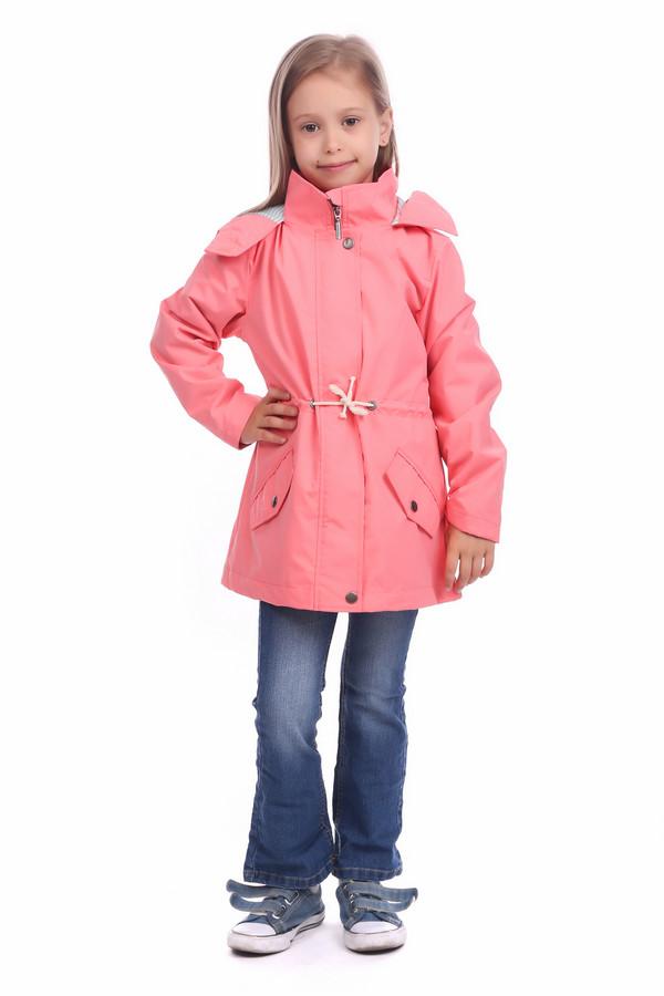 Куртка Tom TailorКуртки<br><br><br>Размер RU: 30;116-122<br>Пол: Женский<br>Возраст: Детский<br>Материал: полиэстер 100%, Состав_подкладка хлопок 100%<br>Цвет: Розовый