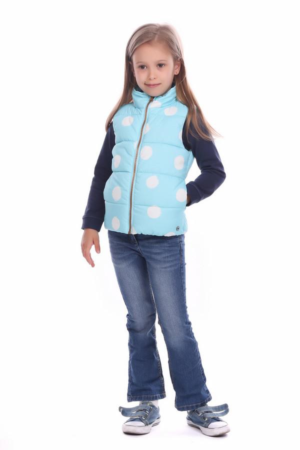 Куртка Tom TailorКуртки<br><br><br>Размер RU: 30;116-122<br>Пол: Женский<br>Возраст: Детский<br>Материал: полиэстер 100%, Состав_подкладка полиэстер 100%<br>Цвет: Белый