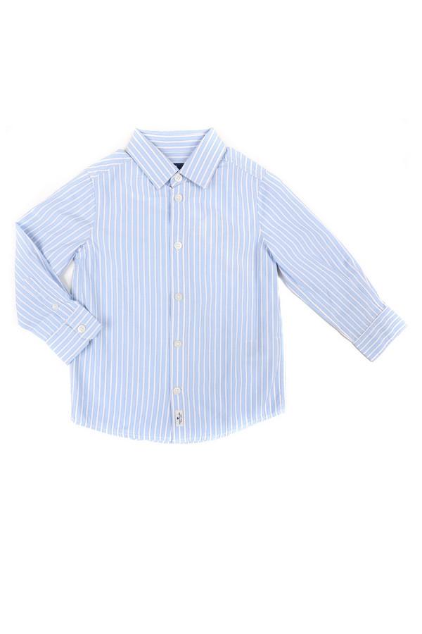 Рубашка Tom TailorРубашки<br>Рубашка Tom Tailor бело-голубая. Отменная модель для мальчика. Это демисезонное изделие он наверняка оценит. Все составляющие успеха здесь налицо: классический крой, что делает рубашку очень удобной, актуальный рисунок в вертикальную полоску и столь любимые в мужской моде голубые расцветки. Состав: 100%-ный хлопок.<br><br>Размер RU: 30;116-122<br>Пол: Мужской<br>Возраст: Детский<br>Материал: хлопок 100%<br>Цвет: Голубой