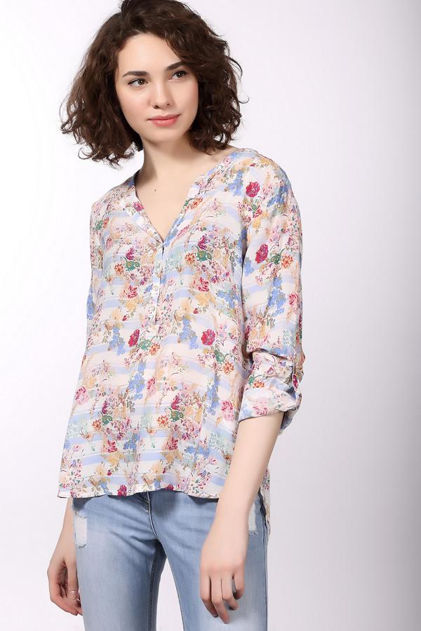 Блузa Tom TailorБлузы<br>Блузa Tom Tailor разноцветная. Белый, бежевый, розовый, зелёный, голубой цвета создают чудесный ансамбль. В такой блузе вы будете выглядеть совершенно несравненно! Застежка поло, непринужденный крой, округлые края блузы – все это позволяет данному изделию выглядеть очень стильно и ультрасовременно. Состав: 100%-ная вискоза.<br><br>Размер RU: 42<br>Пол: Женский<br>Возраст: Взрослый<br>Материал: вискоза 100%<br>Цвет: Разноцветный