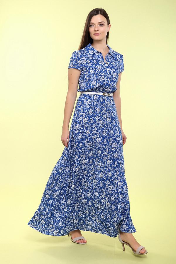 Длинное платье ArgentДлинные платья<br>Платье Argent бело-синее. Чувствовать себя королевой – желание, свойственное большинству женщин. Это как нельзя проще, если в вашем гардеробе присутствует такое чудное платье. Цветочный рисунок отлично дополняет фасон этой привлекательной вещи. Тонкий пояс подчеркивает изящную линию талии. Состав: 100%-ная вискоза.<br><br>Размер RU: 44<br>Пол: Женский<br>Возраст: Взрослый<br>Материал: вискоза 100%<br>Цвет: Белый